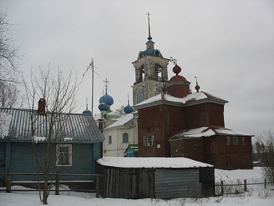 Дмитриево. Никольская и Благовещенская церкви