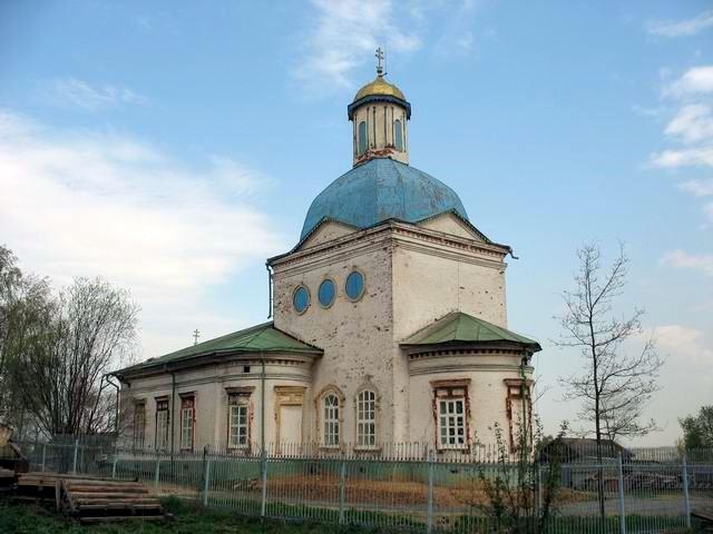Носовское. Церковь Иоакима и Анны